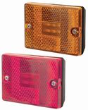Square Marker Clearance Lights: Stud Mount